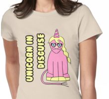 Unicorn In Disguise Womens Fitted T-Shirt