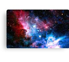 Space Design Two Canvas Print