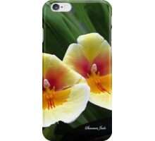 Every Day Is Our Best Day ~ Orchids iPhone Case/Skin