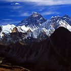 Roof of the World, Mt Everest by Philip Alexander