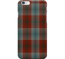 00501 A J Gallacher Tartan  iPhone Case/Skin