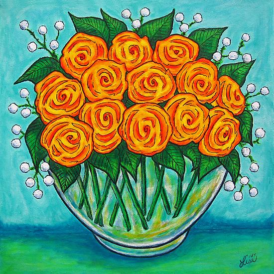 Orange Passion  by LisaLorenz