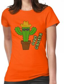 Cool Cactus Womens Fitted T-Shirt