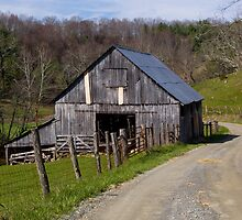 Barn by the Road by Jane Best