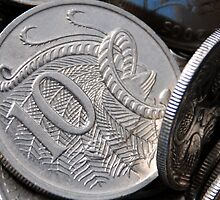 Silver Coins by MickDee