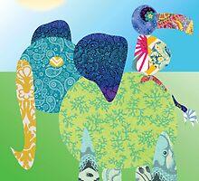 Larravide Elephant Fancy  by Larravide