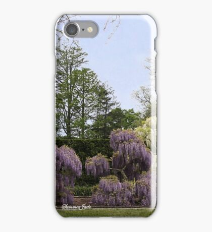 The Wisteria Garden at Longwood iPhone Case/Skin