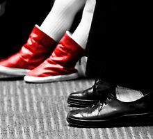 Red Booties by littleny