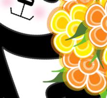 With Love Panda Sticker