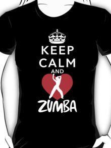Keep Calm And Love Zumba T-Shirt