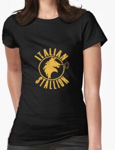 Italian Stallion  Womens Fitted T-Shirt