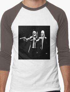 Starwars Pulp Fiction  Men's Baseball ¾ T-Shirt