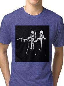Starwars Pulp Fiction  Tri-blend T-Shirt