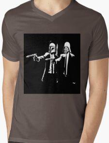 Starwars Pulp Fiction  Mens V-Neck T-Shirt