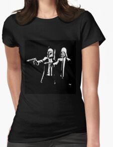 Starwars Pulp Fiction  Womens Fitted T-Shirt