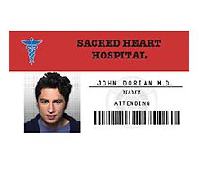 John Dorian - Scrubs MD Photographic Print
