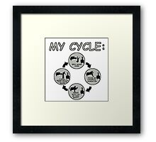 My Cycle  Framed Print
