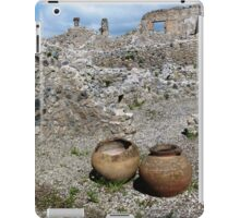 Almost intact among the ruins. iPad Case/Skin