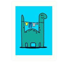 Washinglineasaurus Art Print