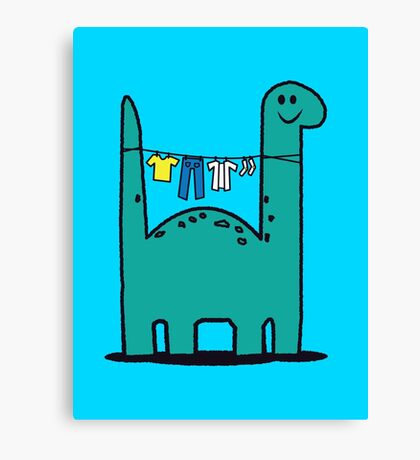 Washinglineasaurus Canvas Print