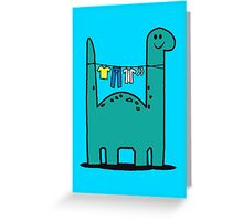 Washinglineasaurus Greeting Card