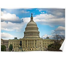 United States Capital - Washington DC Poster