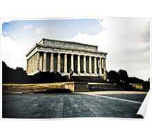Lincoln Memorial - Washington DC Poster