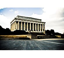 Lincoln Memorial - Washington DC Photographic Print