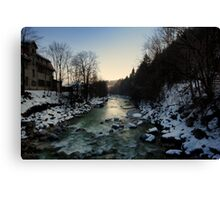 'Let the river in' Canvas Print