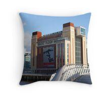 Baltic Flour Mill, Newcastle Throw Pillow