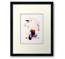 Bubble dreamer Framed Print
