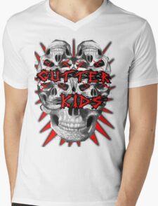 Gutter Kidz Mens V-Neck T-Shirt