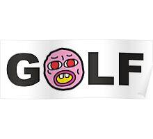 Cherry Golf Poster