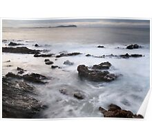 Crazy wind and wild sea Poster