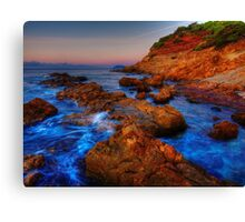 Birth of a new day, HDR version Canvas Print