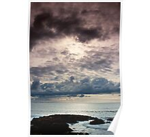 Storm Clouds Across the Sea Poster