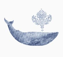 Damask Whale  Kids Clothes