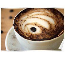 sinking coffee bean Poster