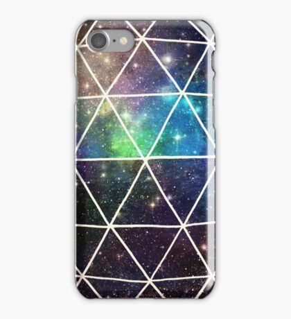 Space Geodesic  iPhone Case/Skin