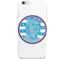 Hillary Clinton Democrat President Candidate iPhone Case/Skin