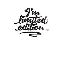 I'm limited Edition Photographic Print