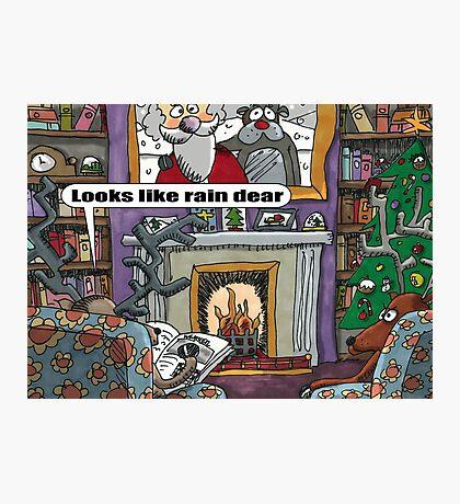 Looks Like Rain Dear Photographic Print