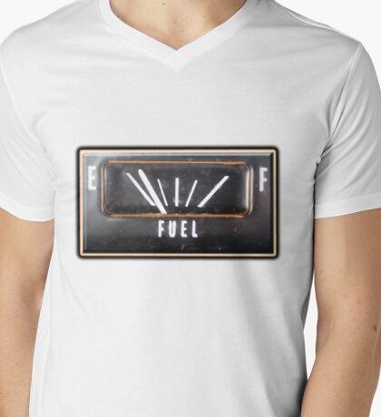 Almost Empty Caddilac fuel gauge Mens V-Neck T-Shirt