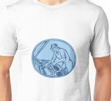 Auto Mechanic Automobile Car Repair Etching Unisex T-Shirt