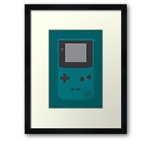 Game Boy Color (Teal) Framed Print