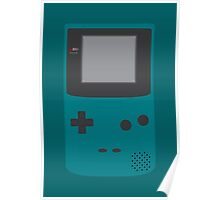 Game Boy Color (Teal) Poster