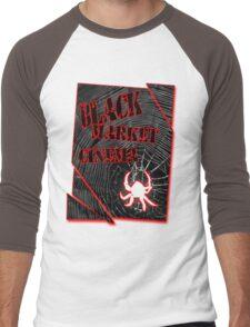 Black Market Cinema Spider logo t-shirt Men's Baseball ¾ T-Shirt