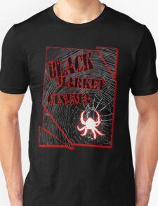 Black Market Cinema Spider logo t-shirt T-Shirt