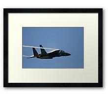 Air Force F-15E Strike Eagle Framed Print