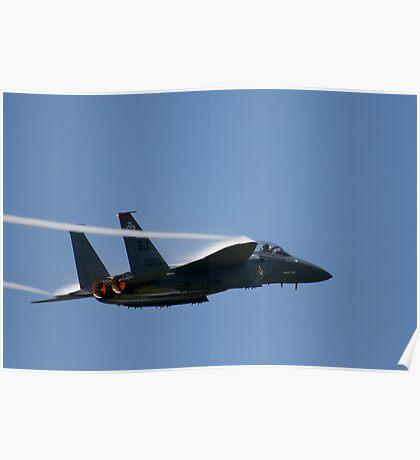 Air Force F-15E Strike Eagle Poster